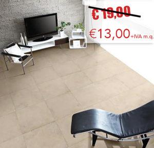 Pavimento Antica Ceramica Rubiera: Urbany Beige 62x62