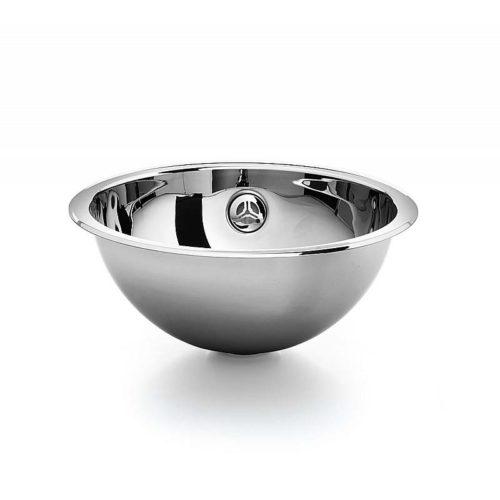 lineabeta lavabo da incasso in acciaio inox