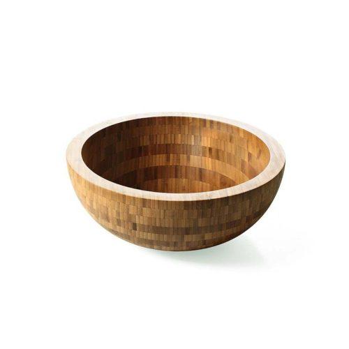lineabeta lavabo da appoggio in bambù