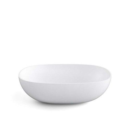 lavabo da appoggio ovale linea acquaio