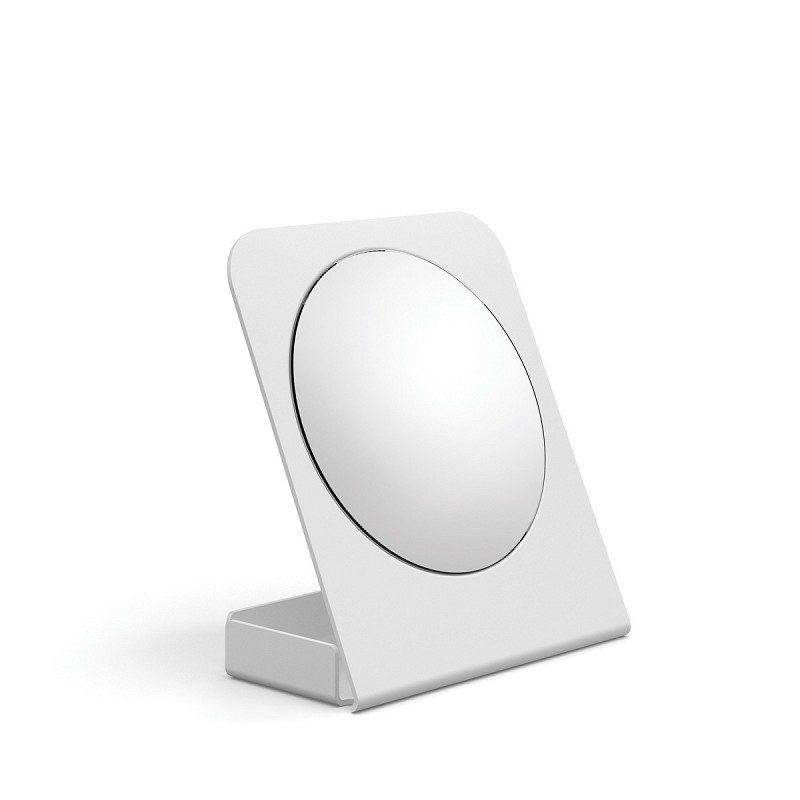 specchio ingranditore con contenitore