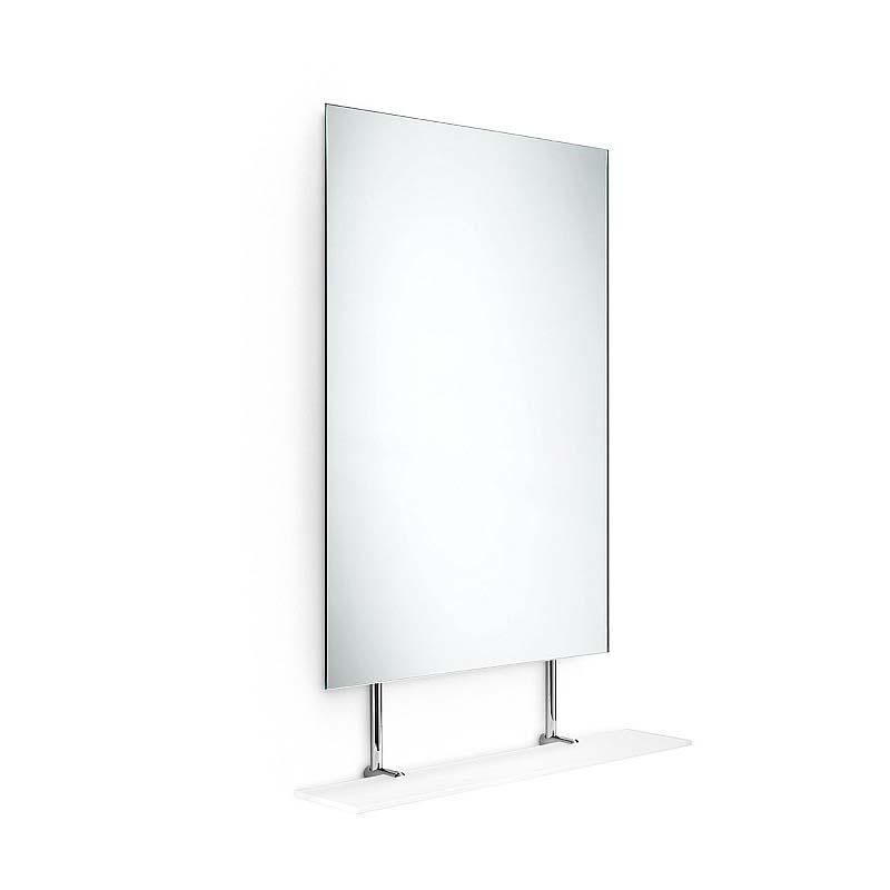 Specchio con mensola in cristallo in promozione planet - Pulire specchio ...