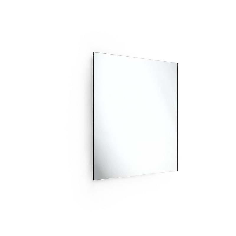 Specchio quadrato con struttura inox in promozione - Pulire specchio ...