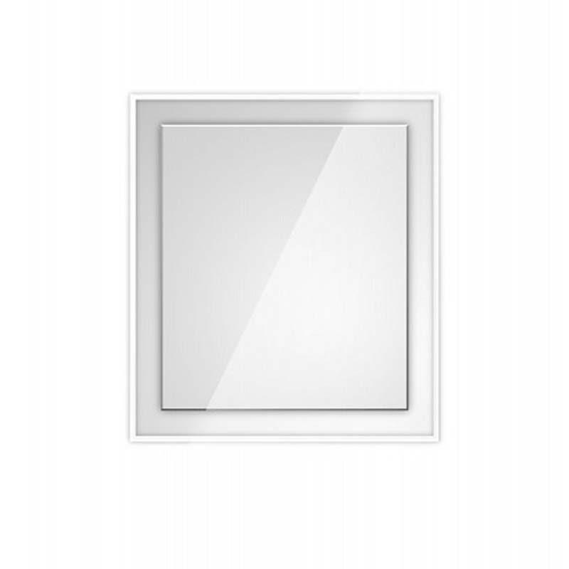 specchio con cornice illuminata LED