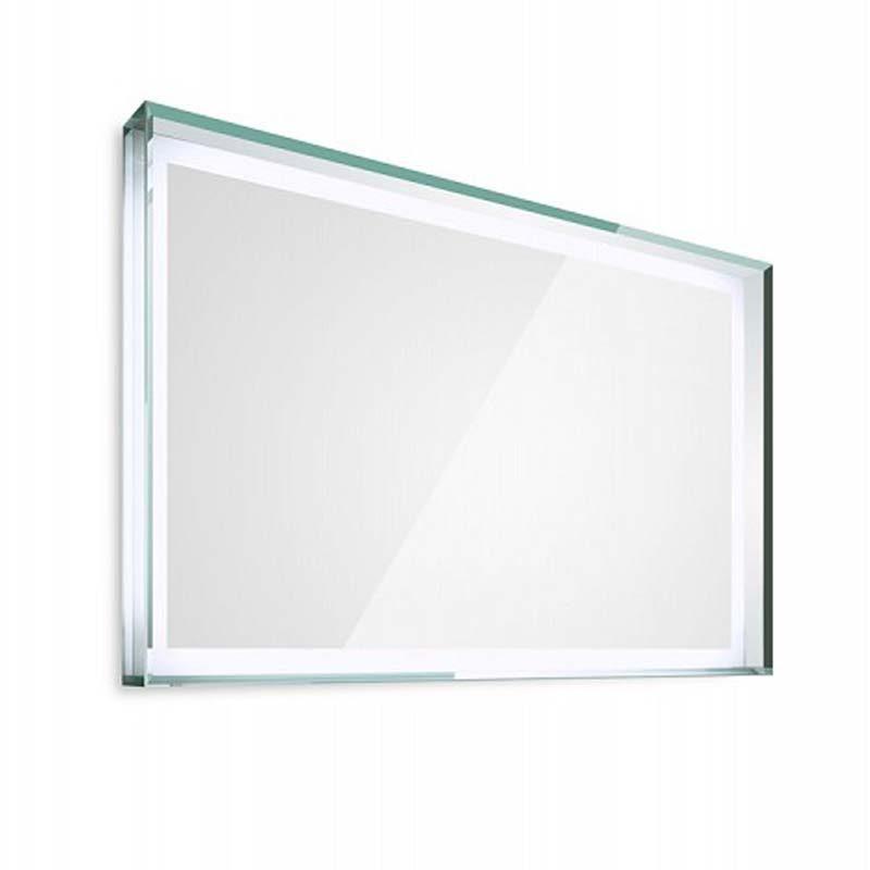 lineabeta specchio con cornice in vetro