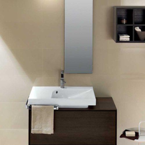 lavabo da appoggio linea grandangolo