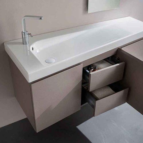 lavabo sospeso linea grandangolo