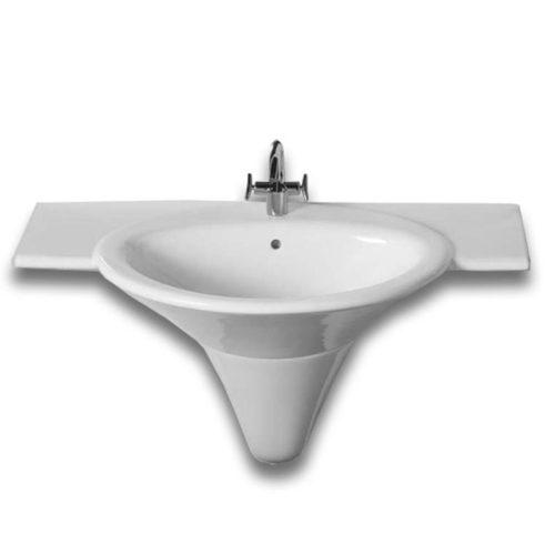 lavabo sospeso linea sculture