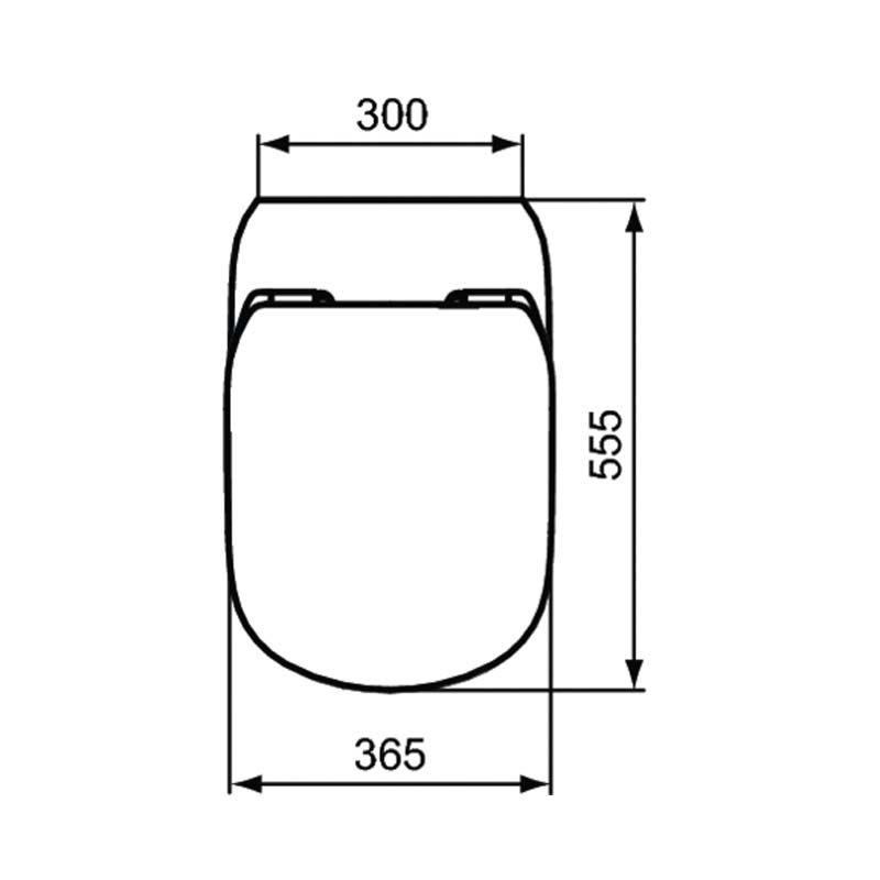 Ideal Standard Vaso a pavimento Tesi