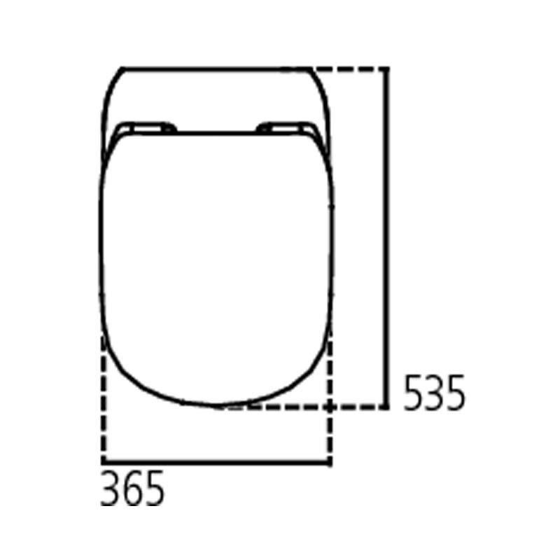 Ideal Standard Vaso Sospeso