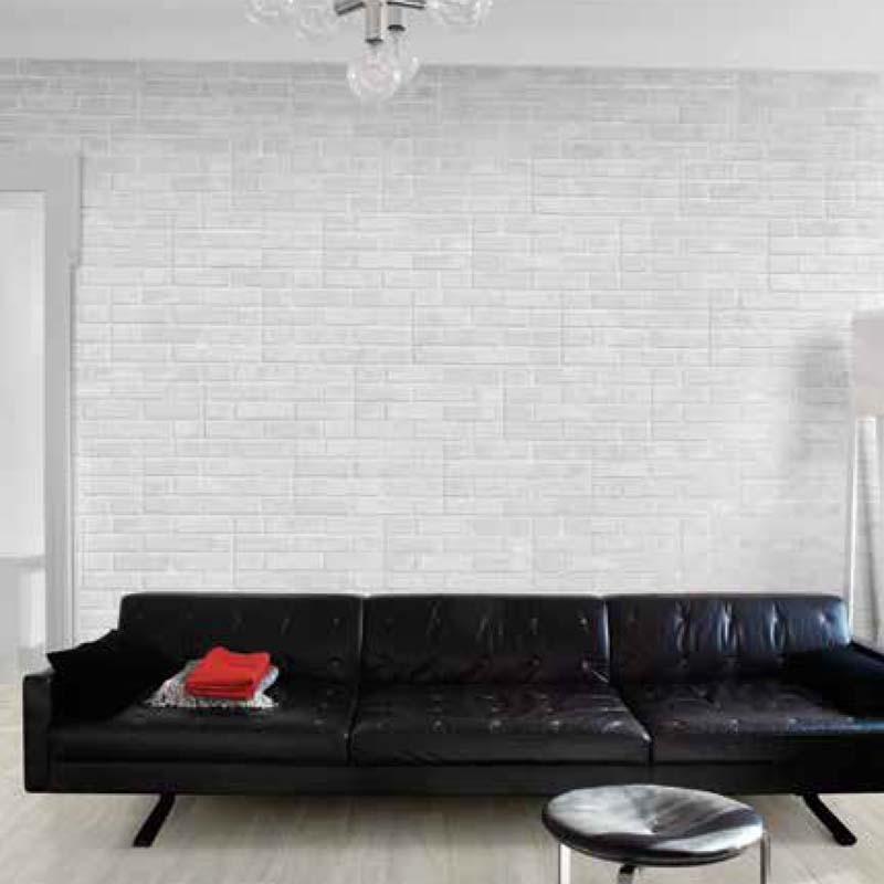 Antica Ceramica Rubiera: Brick White 31×62 Cm – Effetto Mattoncino